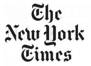 Front View of Emergency Survival Kits New York Times Logo