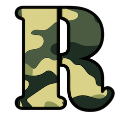 R from Ready To Go Survival Logo