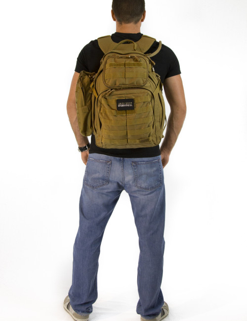 Advanced Operative Bug Out Bag Back View