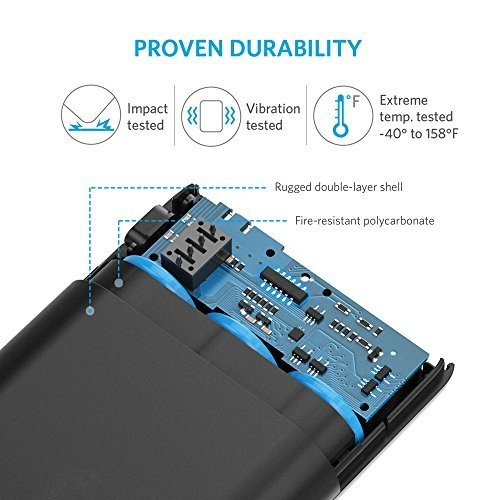 Anker 10000 mAh Battery Pack Durability