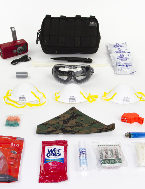Complete EDC Kit with white background