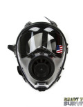 Mestel SGE 150 Chemical Gas Mask Front View on White Background