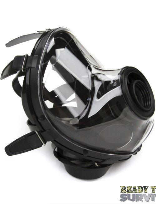 Mestel SGE 150 Chemical Gas Mask Angle View