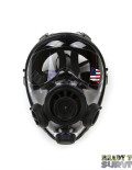 Mestel SGE 400/3 Military Gas Mask Head on View