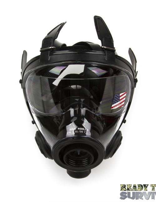 Mestel SGE 400/3 Military Gas Mask Top View