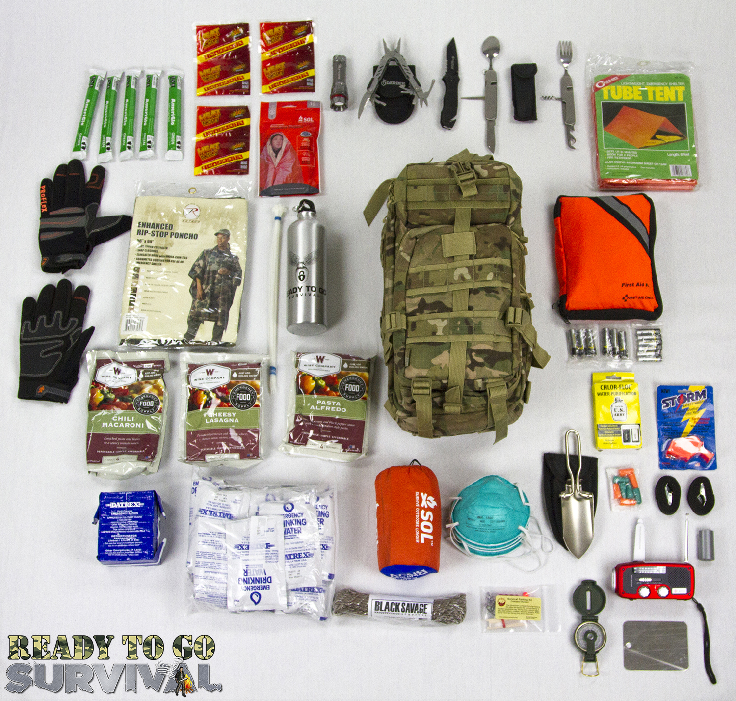 tactical survival kit by ready to go survival   tactical