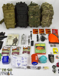All Colors of Tactical Traveler Survival Kit