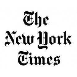 Logo for New York Times