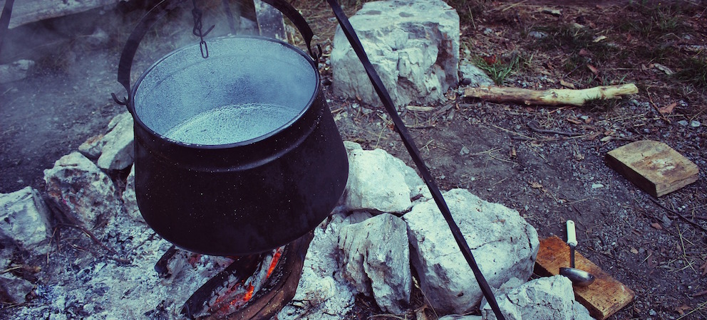 Basic Survival Skill of cooking outdoors