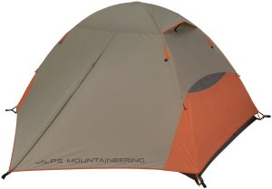 Alps Mountaineering Lynx 2 backpacking tent tent on white background