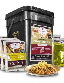 Emergency Bucket 52 Serving Prepper Pack - Wise Food