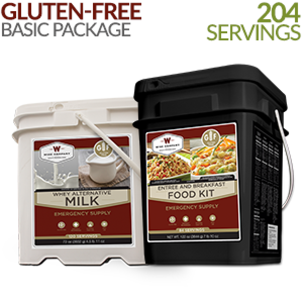 Gluten Free Emergency Food From Wise Company Basic Kit